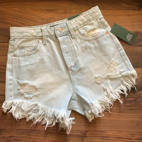 Wild Fable Highest Rise Shorts Distressed Size 2